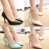 High Quality Spring and Summer Women High Heels Fashion Lady PU Leather High Heel Sandals Shoes Pumps Party Wedding Casual Shoes