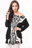 2015 free shipping vestidos  women dress free size women clothing  dress Loose Sexy Shirt Dress