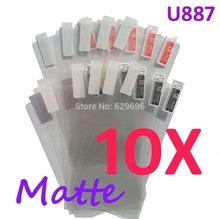 10PCS MATTE Screen protection film Anti-Glare Screen Protector For ZTE U887