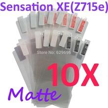 10PCS MATTE Screen protection film Anti-Glare Screen Protector For HTC G18 Sensation XE  Z715e