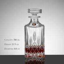 Square Bottle Liquor from