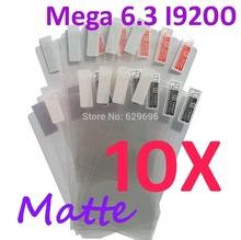 10PCS MATTE Screen protection film Anti-Glare Screen Protector For Samsung Galaxy Mega 6.3 I9200