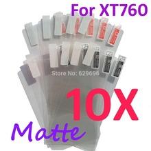 10PCS MATTE Screen protection film Anti-Glare Screen Protector For Motorola XT760