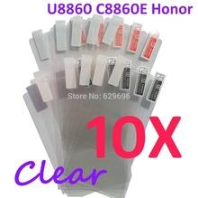 10PCS Ultra CLEAR Screen protection film Anti-Glare Screen Protector For Huawei U8860 C8860E Honor