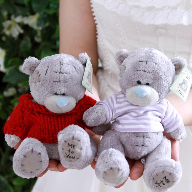Cartoon Plush Teddy Bears Toys Jumbo Me Stuffed Dolls Birthday To You Valentines for Baby&Kids Christmas Gift(China (Mainland))