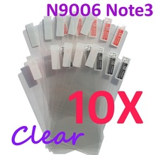 10PCS Ultra CLEAR Screen protection film Anti-Glare Screen Protector For Samsung N9006 Note3