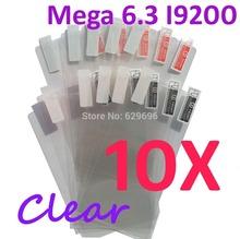 10PCS Ultra CLEAR Screen protection film Anti-Glare Screen Protector For Samsung Galaxy Mega 6.3 I9200