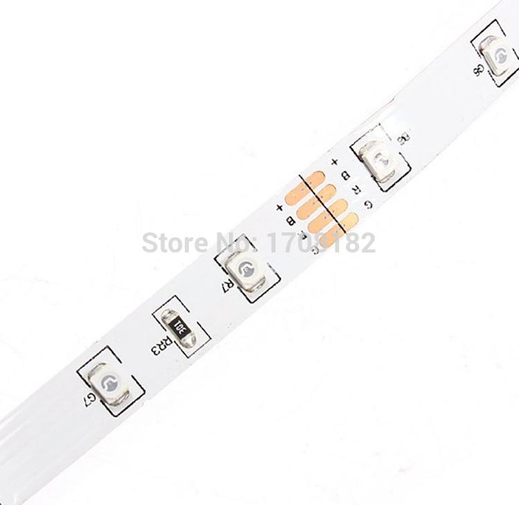 5m 300 LED RGB 3528 SMD 12V flexible light 60 led/m Non-waterproof 3528 LED strip tape Led lamp(China (Mainland))
