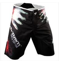 2015 Hot New brand PD high quality men shorts mma sports boxing fight men black short clothing boxing Trunks