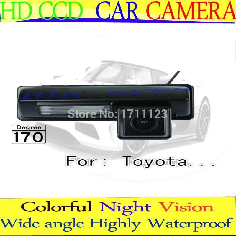Car Rear parking Camera for CCD Toyota 2007 2008 2009 2010 2011 2012 classic EU camry Harrier Ipsum Avensis(China (Mainland))