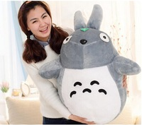 Free Shipping Hayao Totoro doll cute Plush Toys Send lover send children birthday gifts Valentine's gifts 20/80cm G16