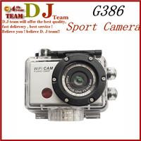 G386 Sport Camera 1080P Full HD WiFi Action Camera Diving 55M Waterproof Sport DV Gopro Free Shipping