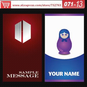 Визитная карточка 0071/13 printio визитная карточка