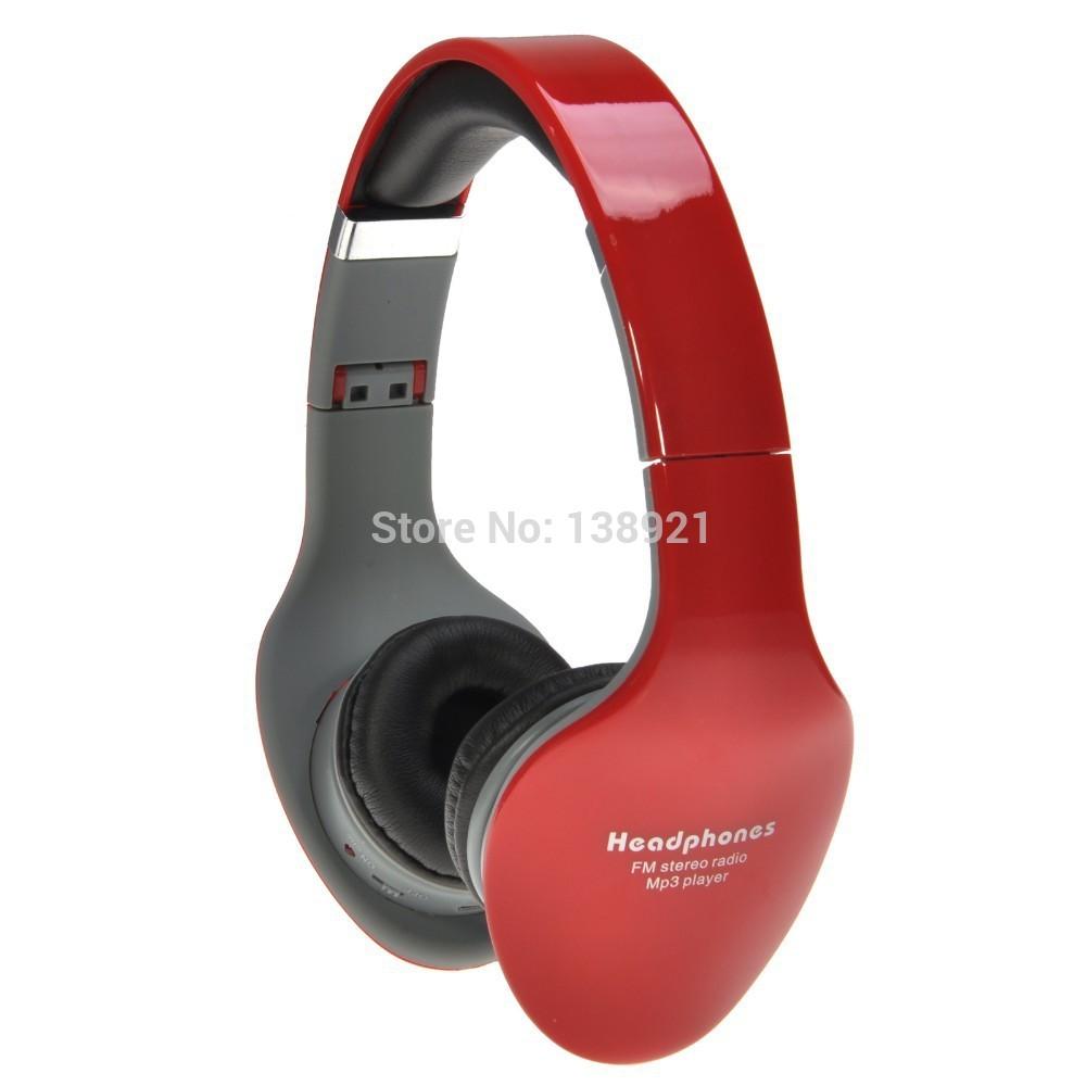 Folding Design 3.5mm Plug Headphone Headset Supports FM Radio TF/Micro SD Card-SD-888(China (Mainland))