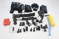 F05657-C Accessories Set: Remote Wrist + Helmet Shoulder Strap Float Monopod Mount for Gopro Hero4 /3plus /3 /2 Sport Camera FS