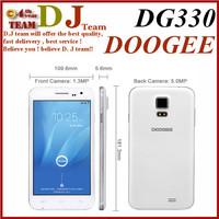 Original 5.0 Inches DOOGEE MINI DG330 MTK6582 Quad Core 1.3GHz Android 4.2 Mobile Phone Camera 5.0MP GPS 3G Dual SIM GSM WCDMA