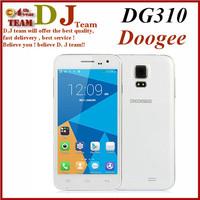 In Stock Original DOOGEE DG310 MTK6582 Quad Core Smart Phone Doogee Voyager2 5.0 Inch Android 4.4 1GB 8GB 5.0 MP OTG GSM WCDMA