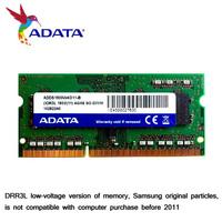Adata laptop ram article 4g 1600 ddr3 l for  for SAMSUNG granules ram bar 4g 1333 compatible DRR3L low-voltage version of memory