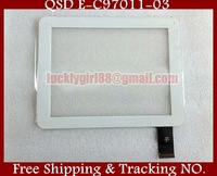 """9.7"""" Prestigio Tablet Touch Screen Panel Digma IDS D10 3G Tablet QSD E-C97011-04 Touch Panel Digitizer Glass Sensor Replacement"""