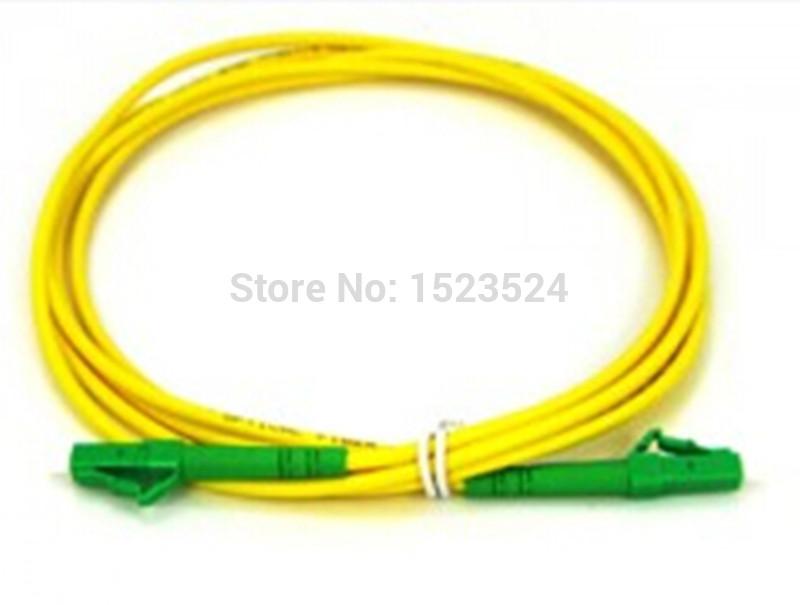 Free Shipping SM SX PVC 3mm 15 Meters LC/APC Fiber Optic Jumper Cable LC/APC-LC/APC Fiber Optic Patch Cord(China (Mainland))