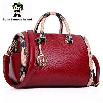 Сумка через плечо Solin famous brand bolsos desigual Panda designer handbags