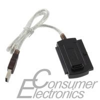 1pc 5.25 S-ATA/2.5/3.5 New USB 2.0 to IDE SATA Adapter Cable Dropshipping