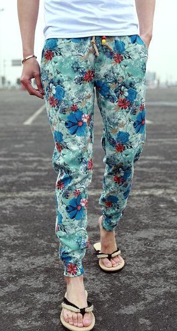 Мужские штаны Jimi joggers 2015 jimi floral pants men