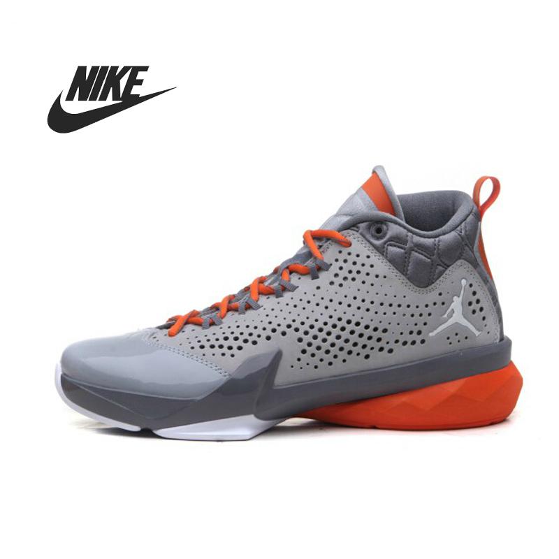 100% original New Nike Jordan flight time 14.5 x men's basketball shoes 682867-005 sneakers free shipping(China (Mainland))