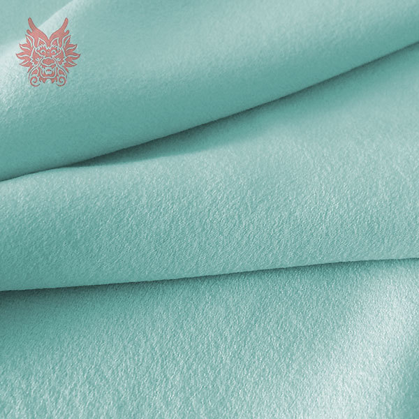 Crepe Fabric in Summer Crepe-de-chine Fabric With
