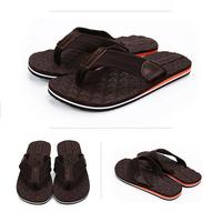 New 2015 Summer Brand Fashion Man's Sandals Canvas Casual Flip Flops Beach Sandals Summer Shoes