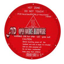 3D printers Delta rostock round hot bed MK3 / reprap standard