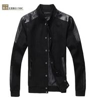 Men's jacket The new fashion leisure cotton jacket coat jacket  men