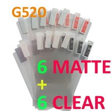 12PCS Total 6PCS Ultra CLEAR + 6PCS Matte Screen protection film Anti-Glare Screen Protector For Huawei G520