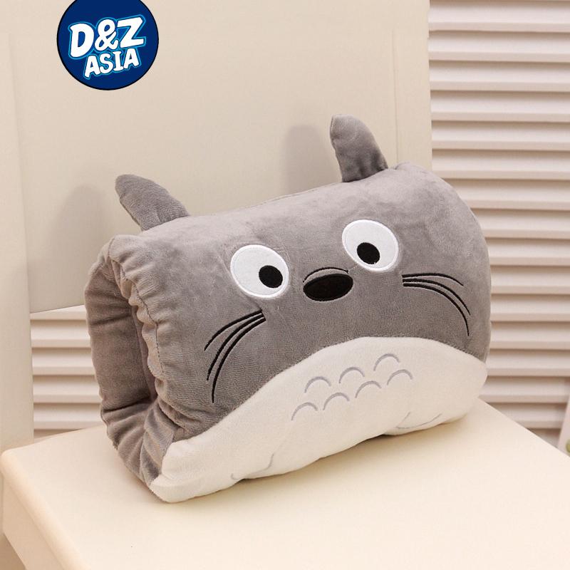 Cartoon Totoro warm winter hand warmer pillow warm hand plush toys Girls Valentine's Day gift(China (Mainland))