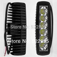 18W LED Offroad Work Light SPOT beam 12V 24V ATV SUV  Mine Boat Lamp Truck,Wholesale 18w IP67 cree led fog light