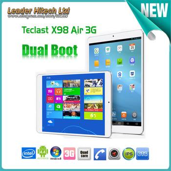 9.7 дюймов Teclast X98 воздуха 3 г двойной загрузки Intel грин бэй Trail-T четырехъядерных процессоров 2.16 ГГц планшет экран сетчатки шт 2 ГБ оперативной памяти 32 / 64 ГБ GPS планшет пк