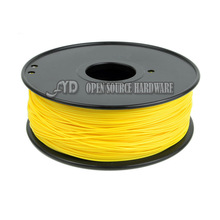 3d printing accessories 3mm 1.75mm consumables 3D Solid materials yellow 3D printer PLA