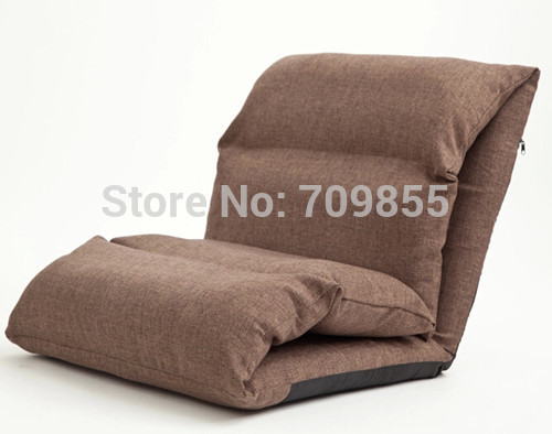 Floor Seating Sofa Sleeper For Living Room Folding Adjustable Sleeper Day Bed Chair Linen Lazy Couch Modern Sleeper Sofa Chair(China (Mainland))