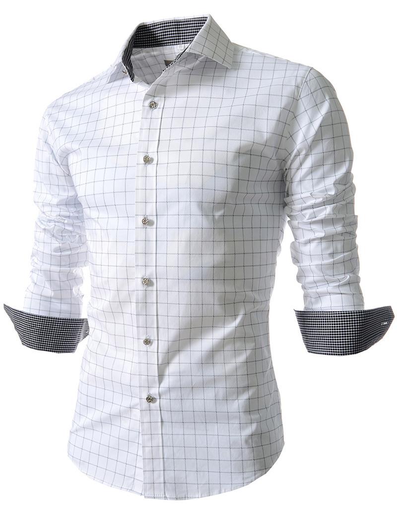 Мужская повседневная рубашка Oem