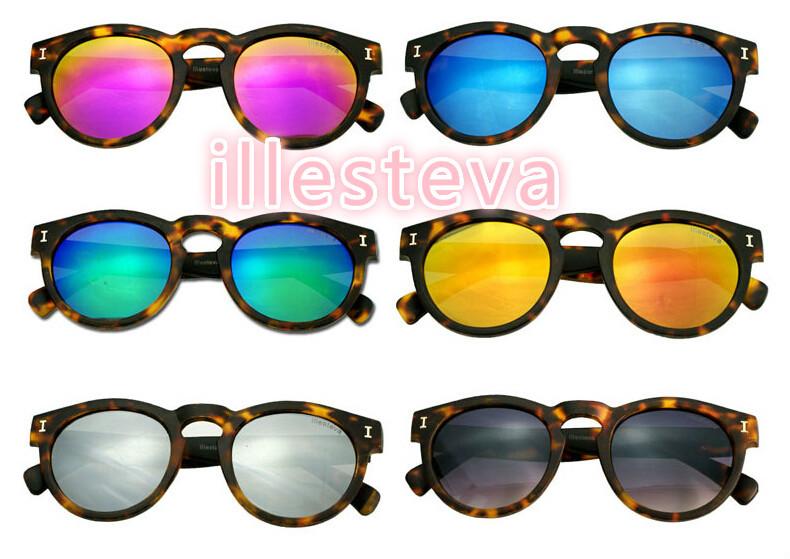 Женские солнцезащитные очки Brand Designer 2015 illesteva oculos feminino SG006