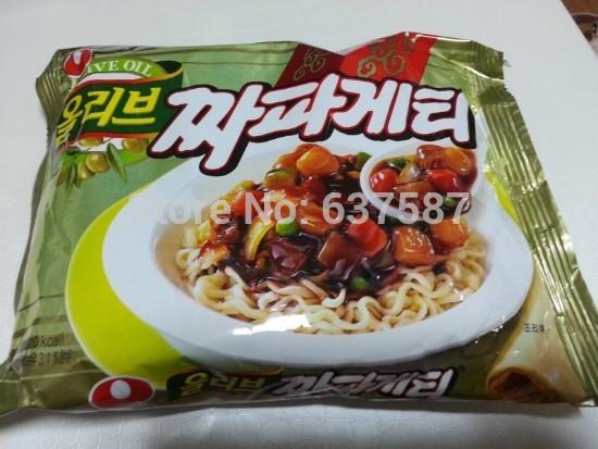 Instant Black Bean Noodles Instant Noodle Black Bean