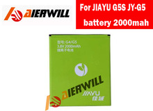 100% original battery 2000mah For JIAYU G5S JY-G5 Smartphone in stock +tracking number +free shipping