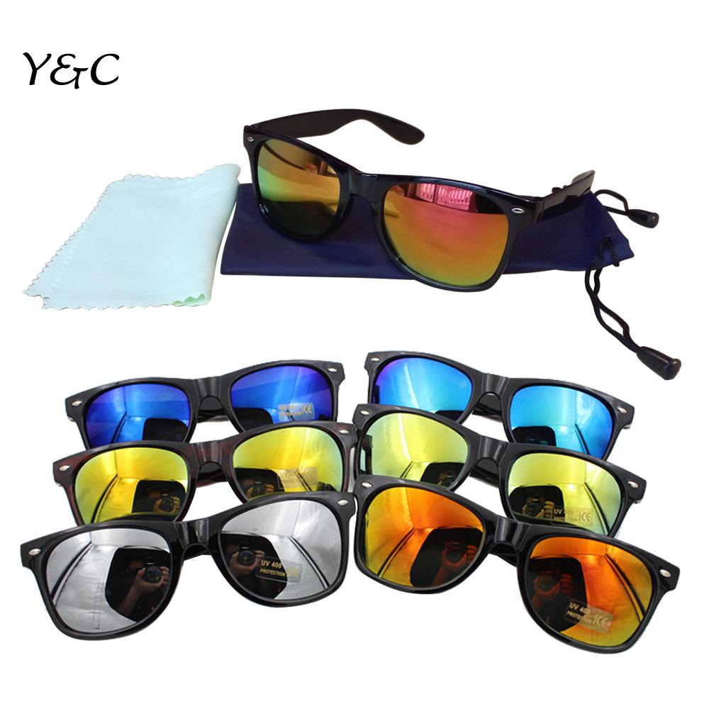 Мужские солнцезащитные очки Y&C 2015 80/uv400 Wayfarer JSB002 2015 y y0294