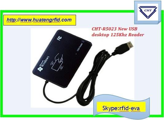 USB R5023 MF New USB RFID ID Contactless Proximity Smart Card Reader EM4001 Card NFC READER CARD READER MF1K/MF4K/13.56MHZ/915(China (Mainland))