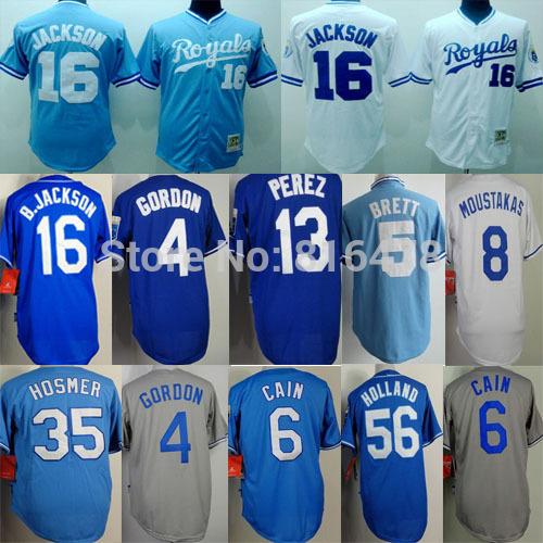 Baseball jersey 16 /hosmer M-XXXL baseball jersey 2015 16 mlb baseball jersey