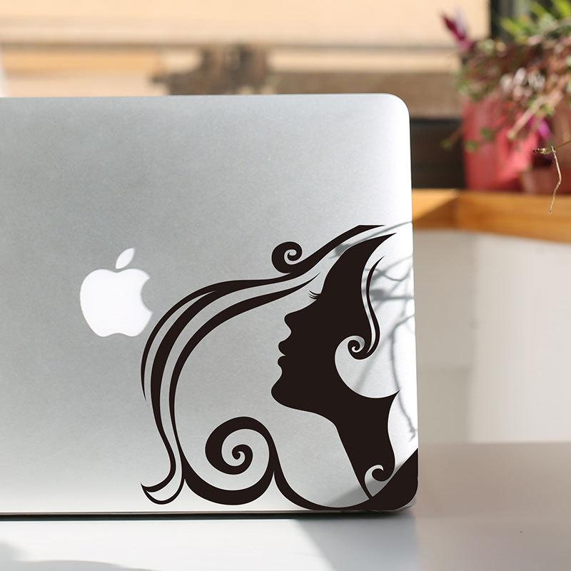 "Big waves girl Skin Sticker New Minimalist Design For mackbook air / pro11 13 15 ""popular Computer Case Stickers.Handsome new(China (Mainland))"