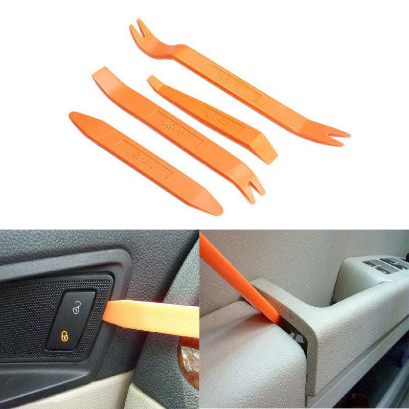 Cheap Portable Vehicle Car Panel 4pcs New Portable Practical Automotive Panel Plastic Trim Removal Tool Set Kit A01056(China (Mainland))