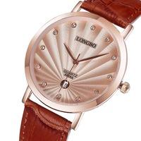 Мода бренда curren мужчин Бриф простые часы золото рант часы кварцевые аналоговые календарь кожа пряжки мужчин наручные часы