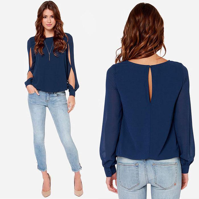 Модные свободные блузки