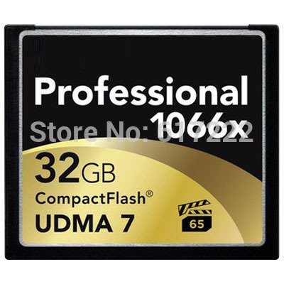 NEW 160MB/s Brand 1066x 32GB CompactFlash CF Memory Card For Canon Nikon DSLR Camera HD Camcorder 1080p 3D 4K DV Video DV Device(China (Mainland))